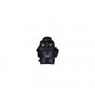 Zenniz Rucksack Bags for Travelling Hiking Trekking Multi Pockets Large Black