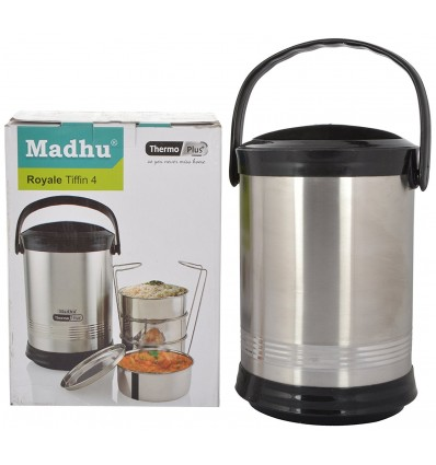 Madhu Royal Tiffin 4 Containers Lunch Box