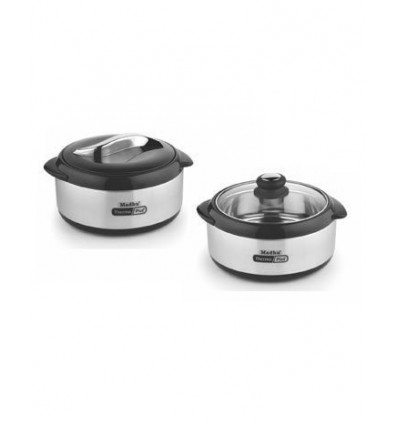 Madhu Hot Serve 3000 thermo Plus+ Dual Lid Casserole