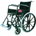 Vissco Modified Black Magic Wheel Chair With Mag Wheels Universal
