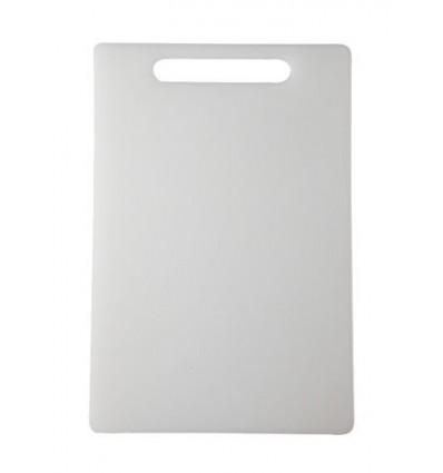 All Time Plastics Chopping Board, 33.6cm, White