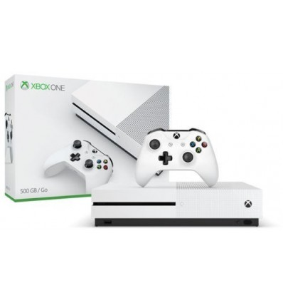 Microsoft Xbox One S 500GB 4K HDR Gaming Console Complete Set (IMPORTED)