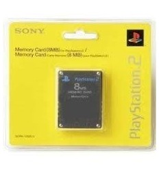 Sony PlayStation 2 Memory Card 8MB 100% original with 3 year WARRANTY
