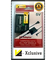 VE-Xclusive PSP charger For Sony PSP All Models Worldwide Usage 5volts 2amps