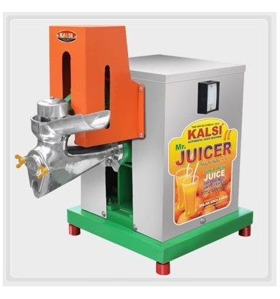Kalsi Commercial Automatic Juice Machine No 18 Stainless Steel Cabinet With 0.5 HP Motor