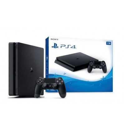 Sony Playstation 4 PS4 Slim 1TB Complete Set Brand New Pack + 15 Games Loaded