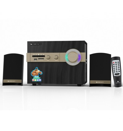 Zebronics ZEB-SW2493RUCF 2.1 Channel Home Theater System USB|Memory Card|Built-In FM Radio