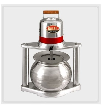Kalsi Domestic Madhani Lassi Machine for Butter Churning With Double Rod and SS Garwa Jar