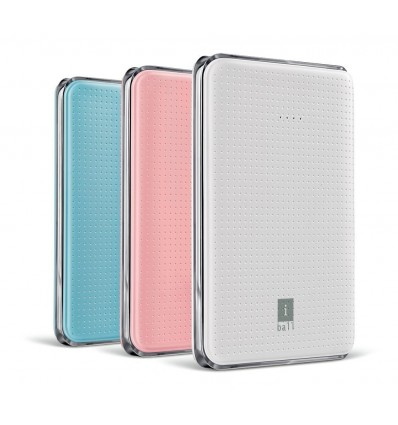 iBall Portable SLIM Power Bank With Dual USB Port & Rechargeable Power Battery 5000mAh