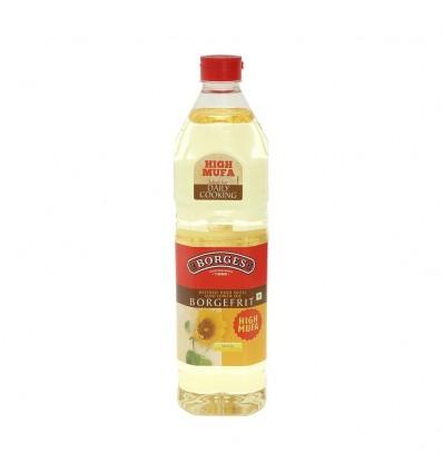 Borges Sunflower Oil Bottle, 1 L