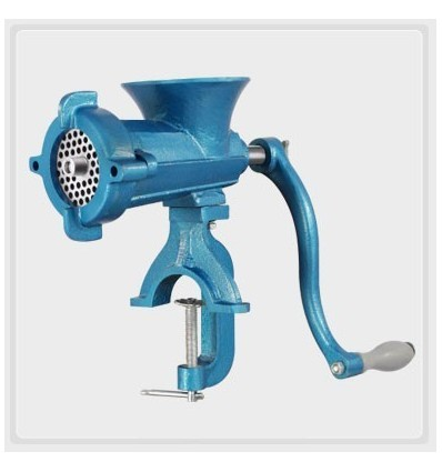 Kalsi Hand Operated Meat Mincer Keema Machine for Sausage Manual Machine No 20 Clamp On (S) / 22 Bolt On (L)
