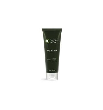 Organic Harvest 3-In-1 Face Wash, 100ml 7737