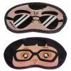Jenna Black Specs Girl Specs Cartoon Face Sleeping Eye Mask (Pack of 2)