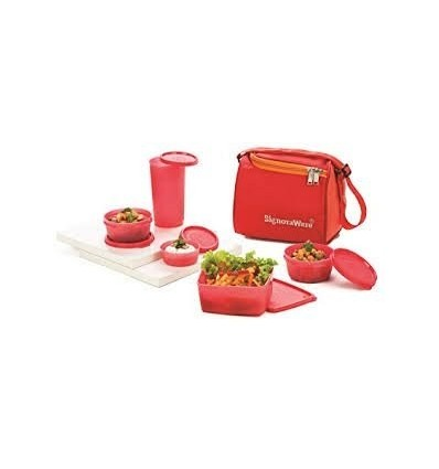 Signoraware Best Lunch Box (Colour may vary)