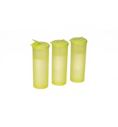 All Time Plastics Freeze Bottle Set 1 Litre Set of 3 Yellow 1000MlYellow