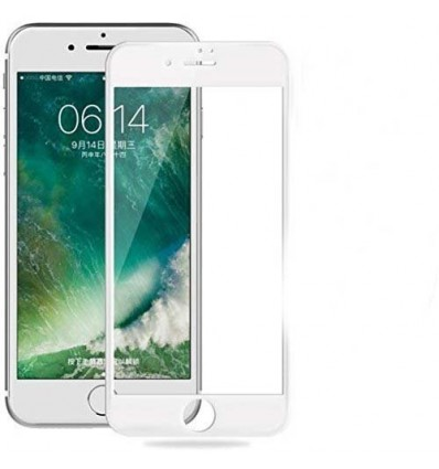 IPhone 7 Full Cover Premium 5D Tempered Glass | Buy One Get One Free (White)