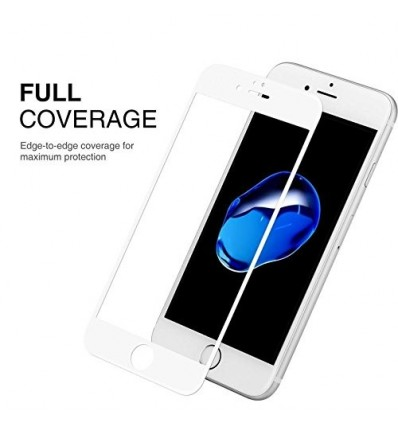 IPhone 6S/6 Full Cover Premium 5D Tempered Glass | Buy One Get One Free (White)