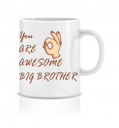 Awesome Brother Ceramic Coffee Mug ED005