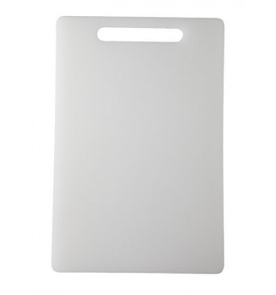 All Time Plastics Chopping Board, 37cm, White 303521-6