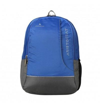 Aristocrat Zing Fabric 25 Ltrs Blue Laptop Backpack LPBPZIN3BLU