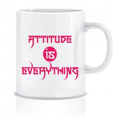 Everyday Desire Attitude is Everything Printed Ceramic Coffee Mug ED092