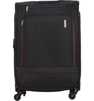 Aristocrat Saphire 4W Expandable Strolly 71 CM Expandable Check in Luggage 28 inch Grey