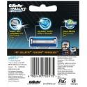Gillette Mach 3 Turbo Manual Shaving Razor Blades 8s Pack Cartridge