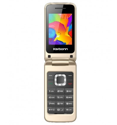 Karbonn K-Flip Basic Feature Flip Phone + Camera+ WirelessFM+ Mobile Tracker