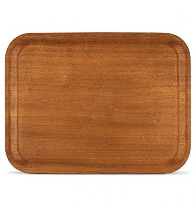 Color: Red Mahogany, Material: Wood Package Contents: 1-Piece Tray Great for use every day or on special occasions Great for use