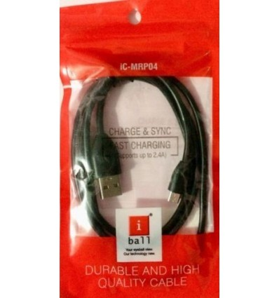 iBall Micro USB Charge & Data Sync Cable (iC-MRP04)