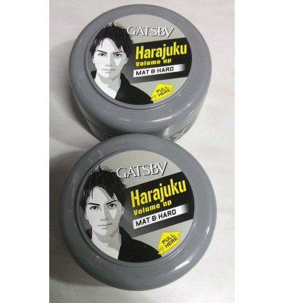 Gatsby Hair Wax - Mat & Hard 75 gm (Pack of 2)