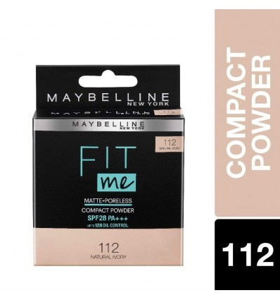 Maybelline Fit Me Compact -Natural Ivory -112- 8 gm