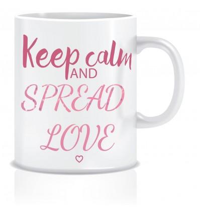 Everyday Desire Spread Love Ceramic Coffee Mug - Valentines / Anniversary gifts for girlfriend, boyfriend, wife, husband - ED399