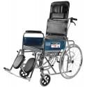 Vissco Metal Rodeo Ext Reclining Wheelchair With Spoke Wheels