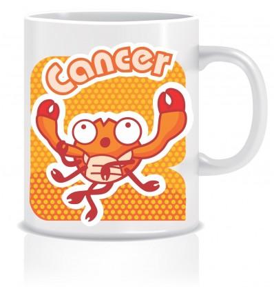 Everyday Desire Cancer Zodiac Sign Coffee Mug - Birthday gifts for boys, girls, friends - ED610