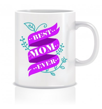 Everyday Desire Best Mom Ever Coffee Mug - Birthday gift for Mom, Mother, Mommy - Mother's day gifts - ED623