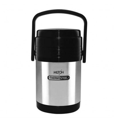 Milton Thermosteel Hot Meal 3 Container Lunch Box for Office