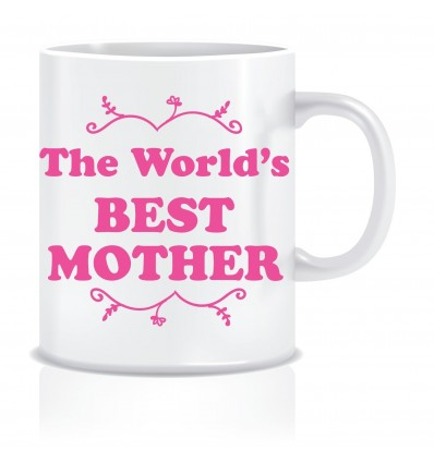 Everyday Desire The World's Best Mother Coffee Mug -Birthday gifts for Mother, Mom, Mommy - Mother's day gifts - ED633