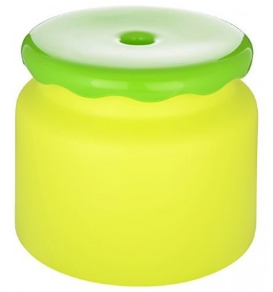 All Time Frosty Plastic Bathroom Stool, Green