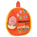 Zenniz Soft Toy Bags for Toddlers Naughty Boy