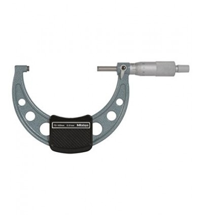 HM Company Mitutoyo Outside Micrometer 75-100Mm