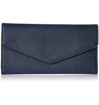CATHY LONDON Women's Wallet Medium Blue B01LALAX22