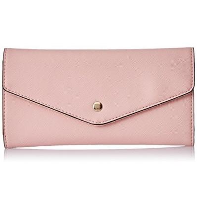 CATHY LONDON Women's Wallet Medium Pink B01LALB4IY