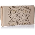 CATHY LONDON Women's Wallet Medium Beige B01LALATNK