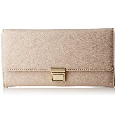 CATHY LONDON Women's Wallet Medium Beige B01LALAGA6